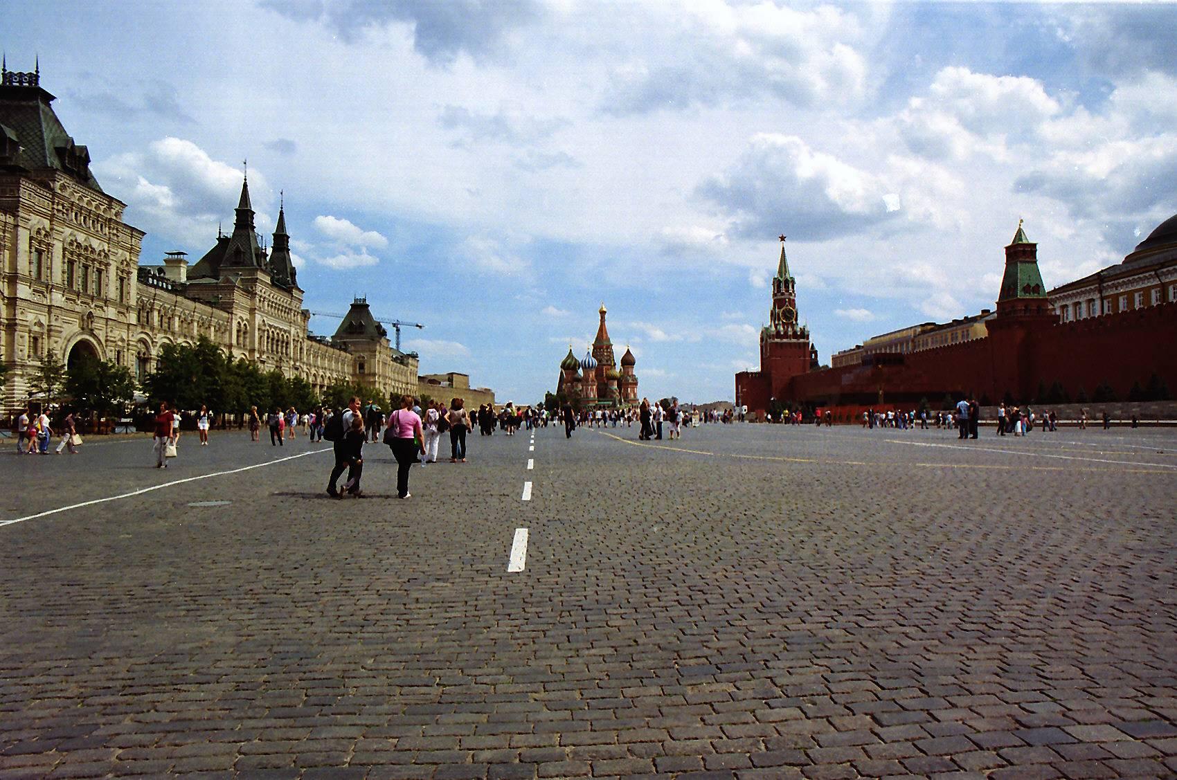 Moscou - De Copenhage a Moscou
