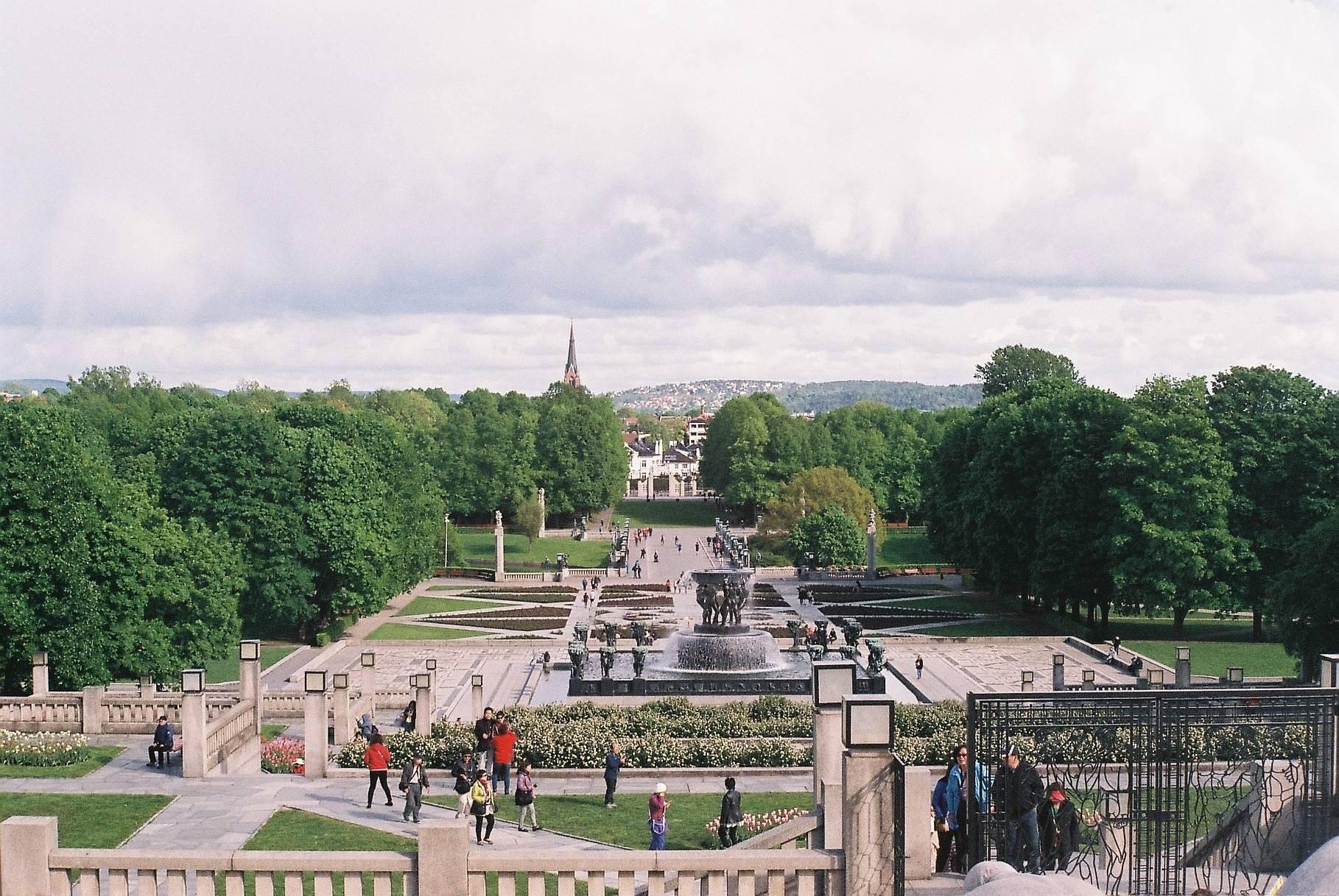 Oslo - De Copenhage a Moscou