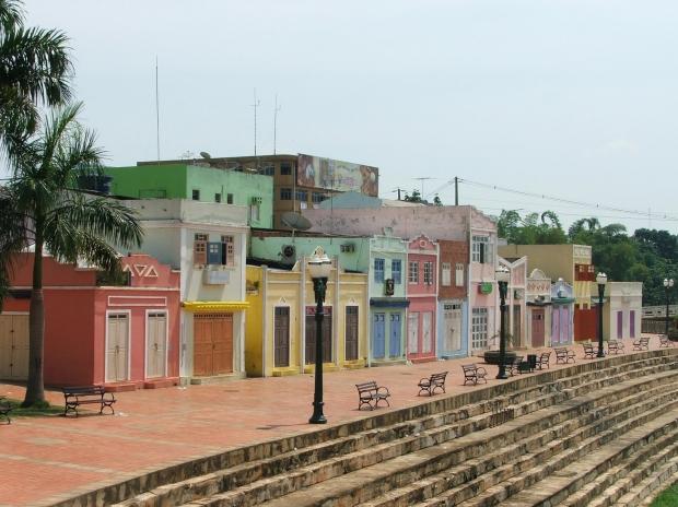 Rio Branco: harmonia com a natureza