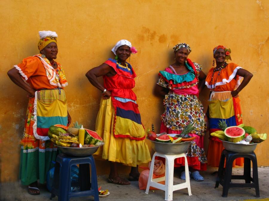 Joias do mar do Caribe - Cartagena