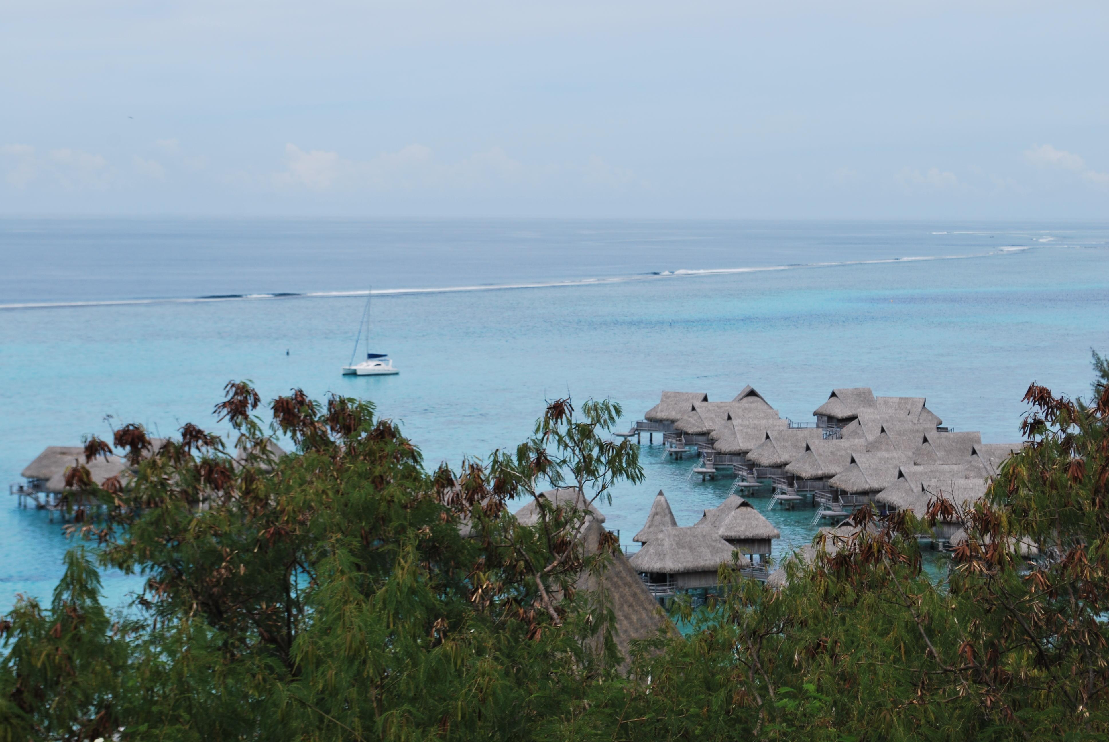 Natal e Réveillon no Taiti
