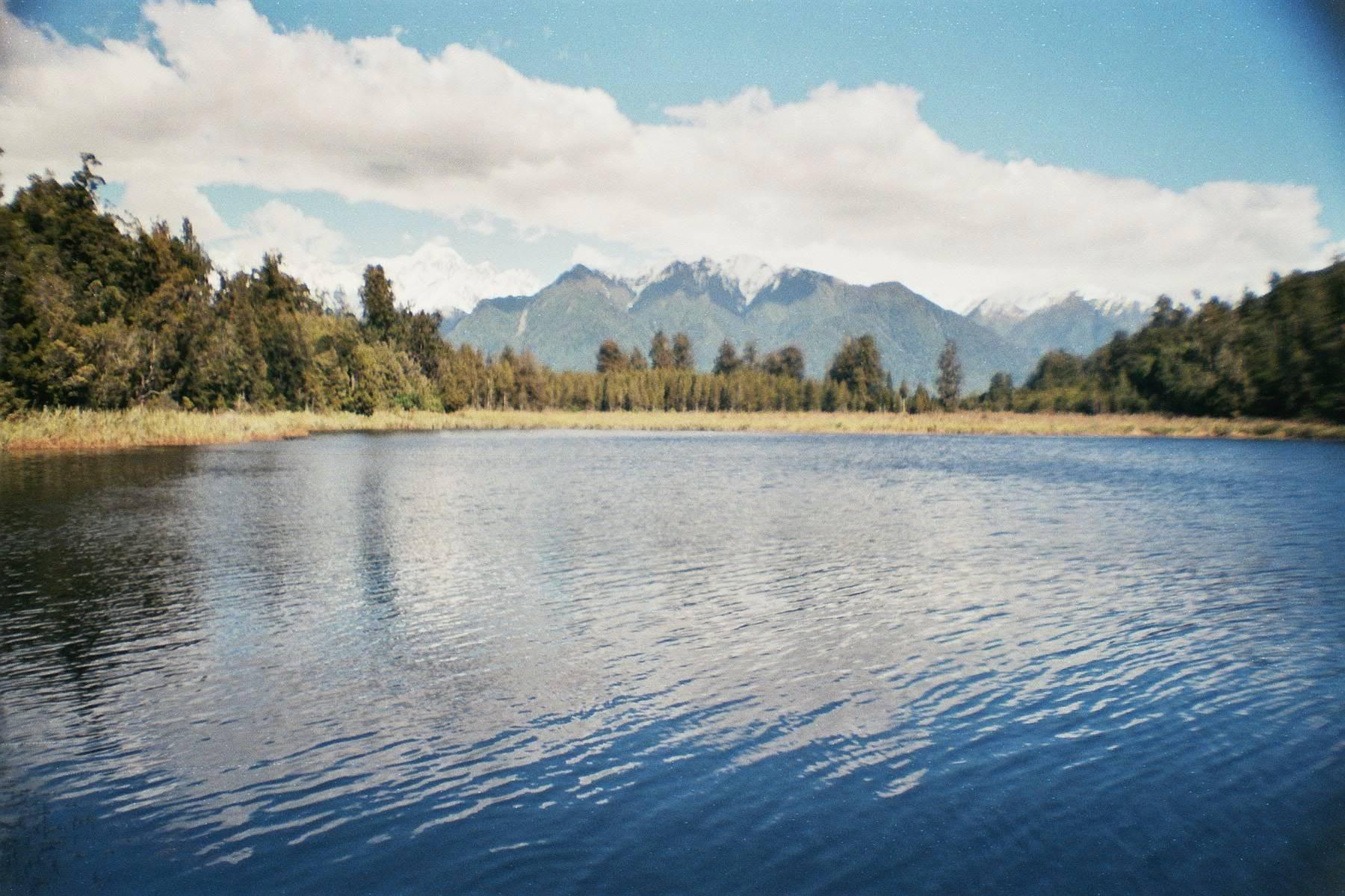 Lago Matheson - Nova Zelândia de norte ao sul
