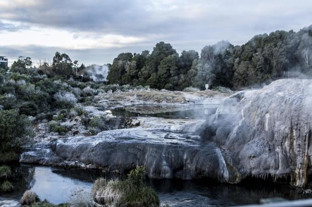 Rotorua - Nova Zelândia de norte ao sul