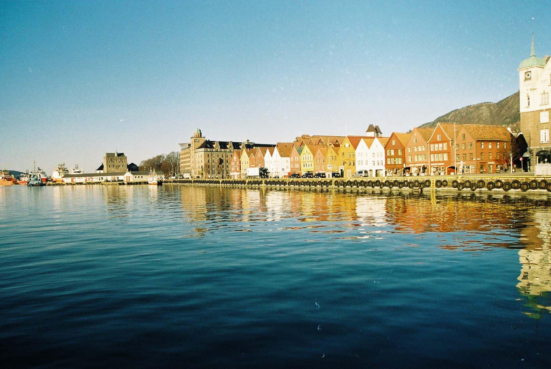 Bergen - Copenhague a São Petersburgo