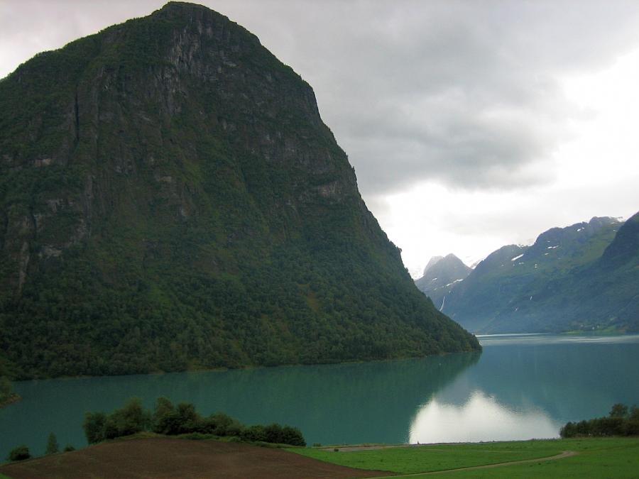 Geleira Briksdal - Noruega, terra dos fiordes e geleiras