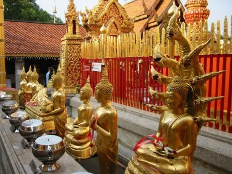 Chiang Mai - Lua de mel na Tailândia