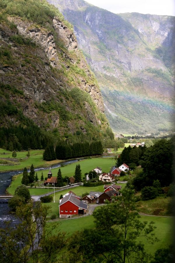 Flam - Noruega, terra dos fiordes e geleiras