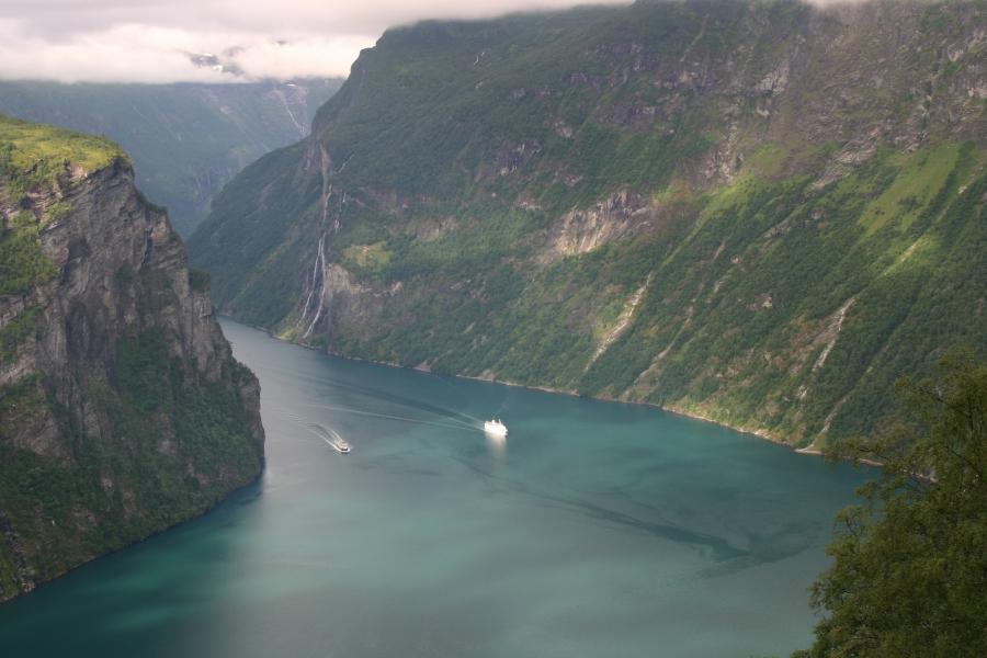 Geiranger - Noruega, terra dos fiordes e geleiras