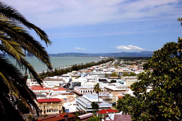 Napier - Rota do vinho na Nova Zelândia
