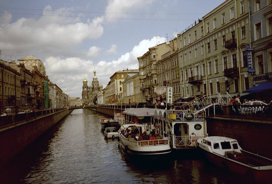 São Petersburgo - Copenhague a São Petersburgo
