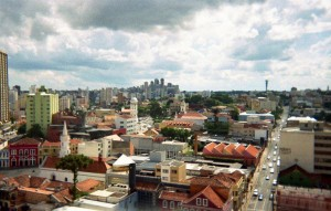 Curitiba e trem da Serra do Mar