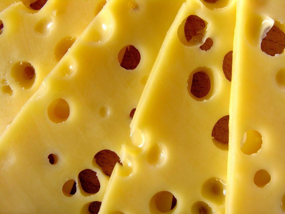A rota dos queijos.